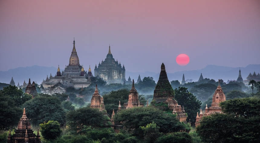 Visit enchanting Myanmar, flights from London from only 298 £