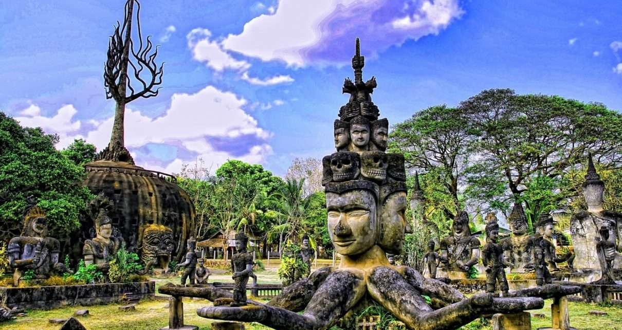 Round-trip flights from London to LAOS for 340 £