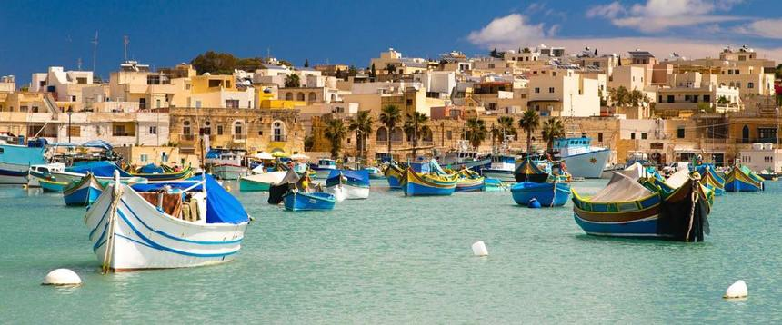 Summer ! Direct return flights from Karlsruhe to Malta for only 47 €