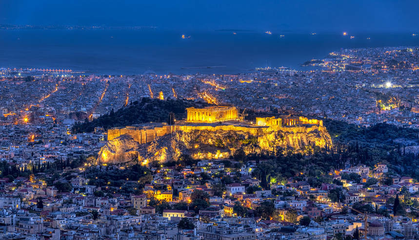 Direct return flights from Vilnius to Athens from just 69 €