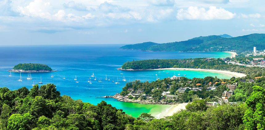 Return flights from Kosice, Slovakia to Phuket, Thailand for just 385 €