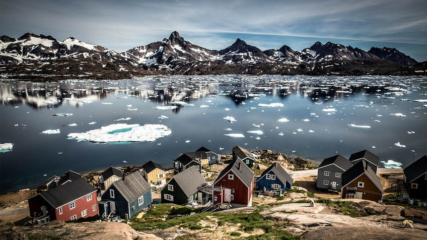 Summer 2018 | Return flights from UK & Denmark to Greenland from only 487 €