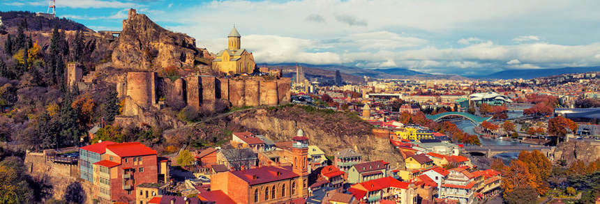 Direct round-trip flights from Istanbul to Tbilisi, Georgia for 79 €
