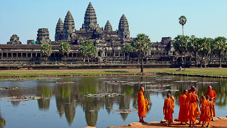Return flights from Rome to Cambodia for just 314 € !