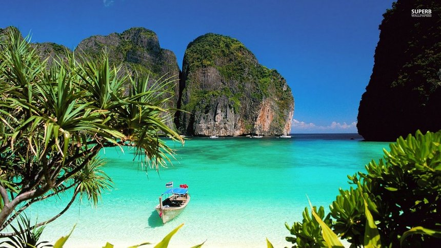 Direct return flight from London to Krabi, Thailand for just 283 £ / 320 €