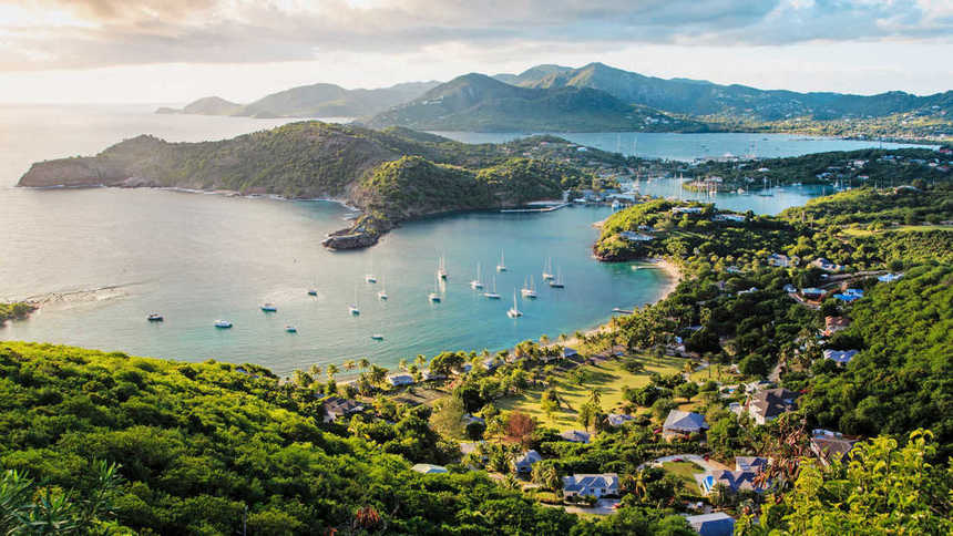 Direct round-trip flights from London to ANTIGUA on sale from 399 £