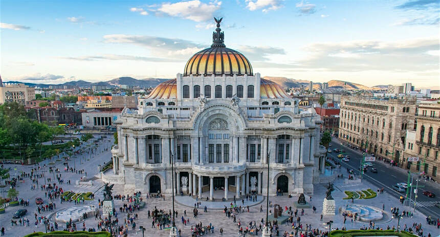 Round-trip flights from Paris to Mexico City for 402 €