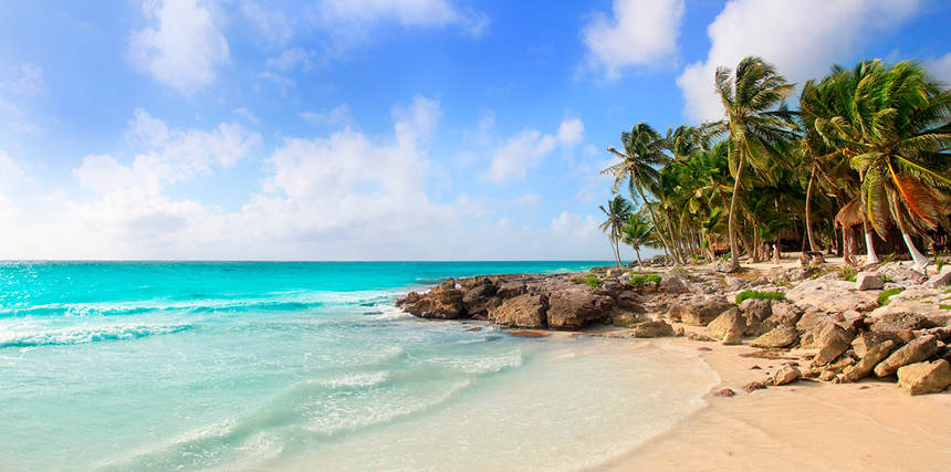 Direct return flights from UK to Cancun, Mexico for just 229 £