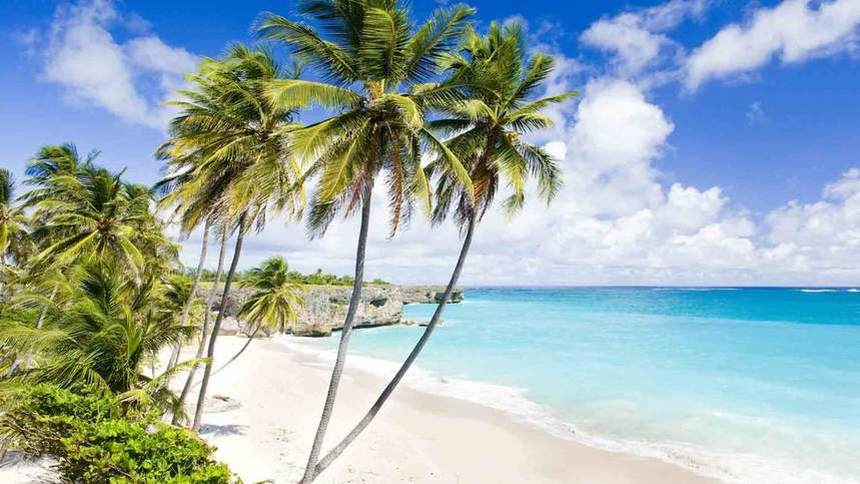 Direct return flight from Manchester to Barbados for just 370 £