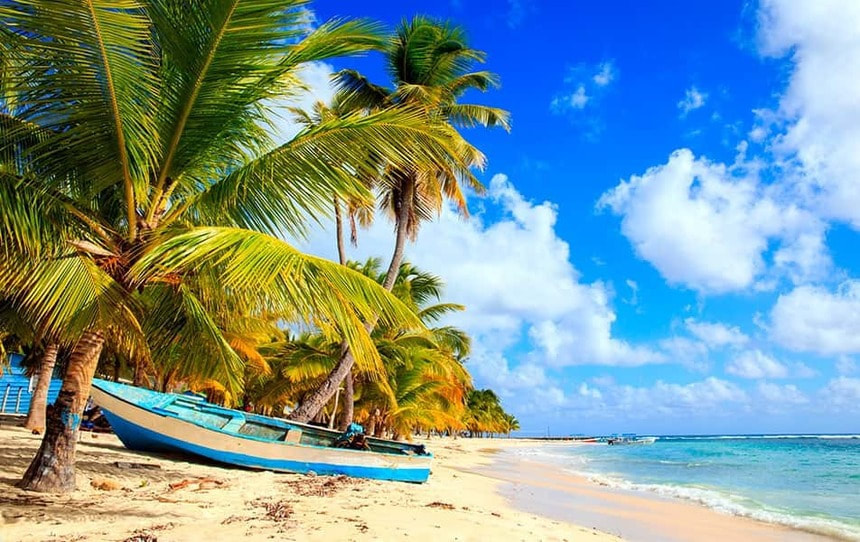 Direct return flight from Manchester to Punta Cana, Dominican Republic for just 279 £