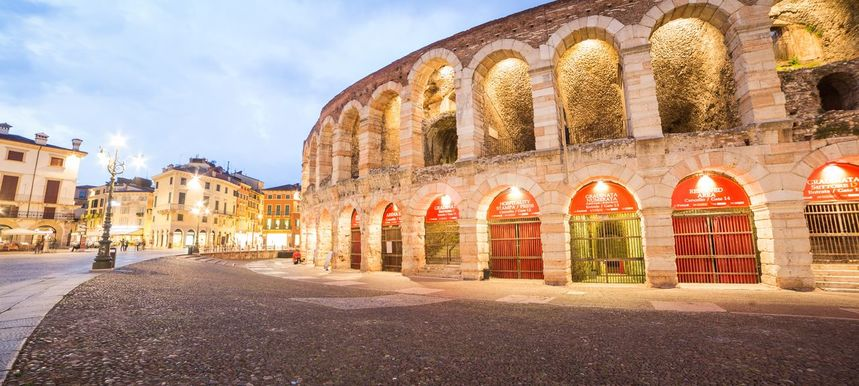 Round-trip flights from London to Verona, Italy for just 10 £