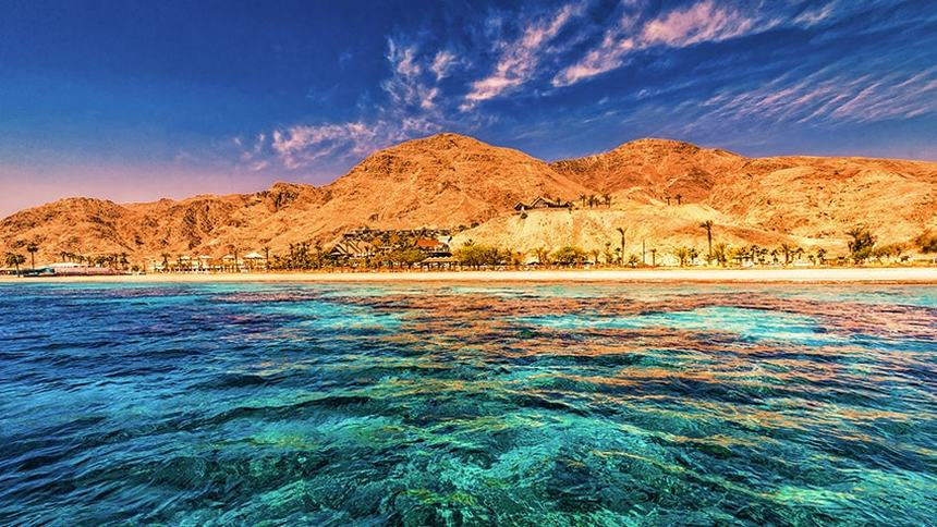 Round-trip flights from Poznan to Eilat, Israel for only 26 €
