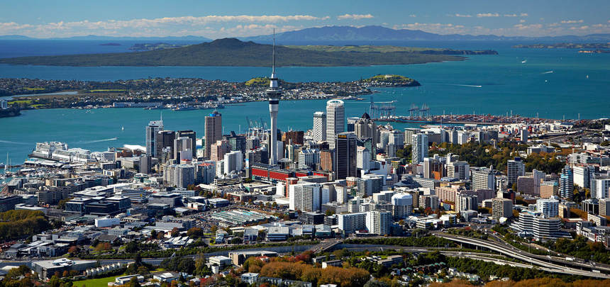 Return flights from London to Auckland from just 478 £