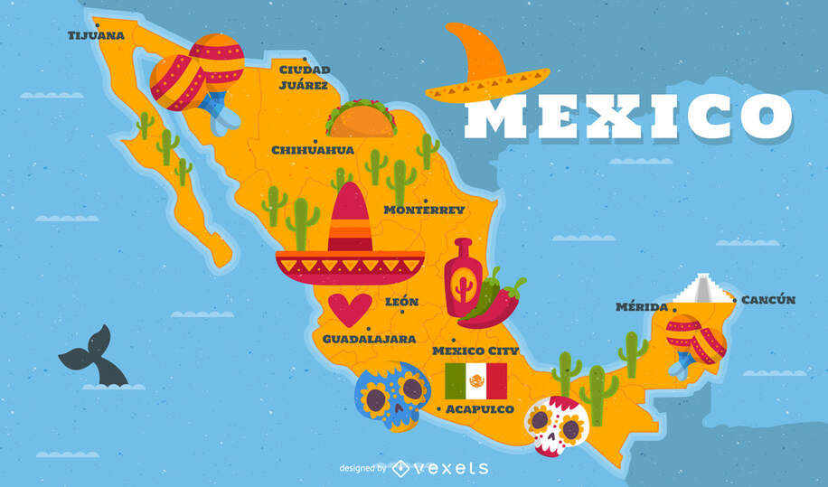 Round-trip flights from Madrid to MEXICO on sale from 330 €