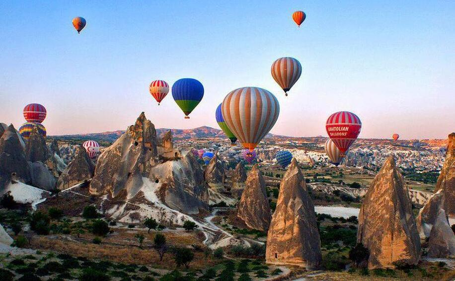 Direct round-trip flights from Vienna to Cappadocia, TURKEY for 80 €