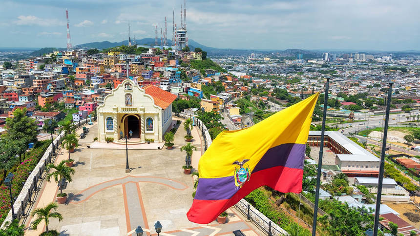 Return flights from Manchester to Guayaquil, Ecuador from only 452 £