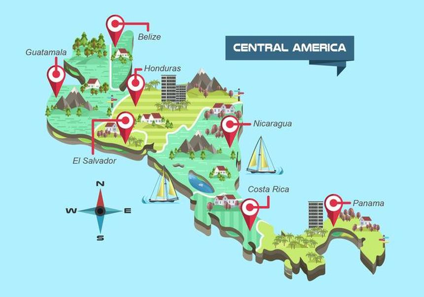 Crazy Offer !! Return flights from Luxembourg to Central America from just 349 € !!