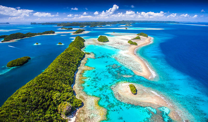 PARADISE AWAITS ! Round-trip flights from Amsterdam to Palau for 693 €