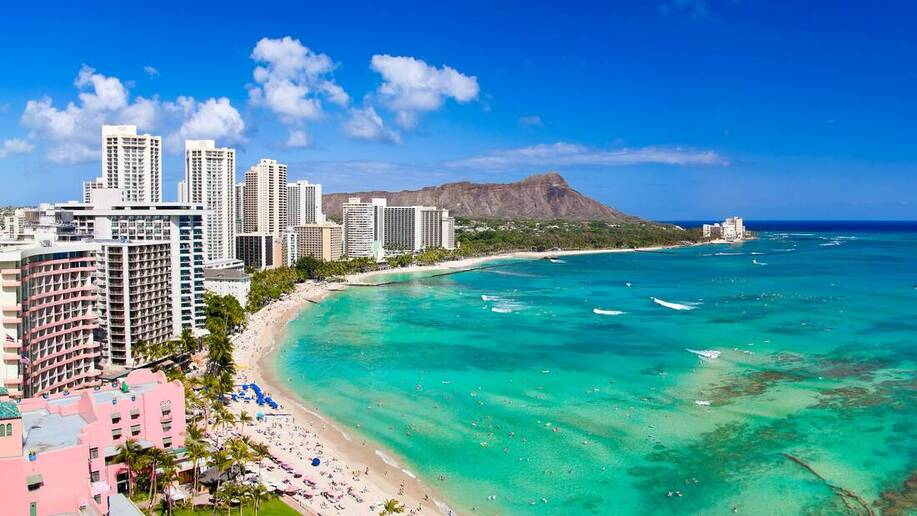HAWAII LOW COST ! Round-trip flights from Amsterdam to Honolulu, USA for 316 €