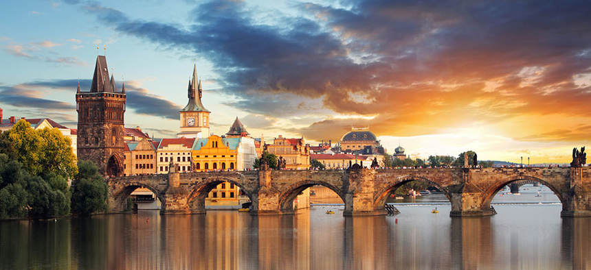 Summer return flights from London to Prague for just 28 £