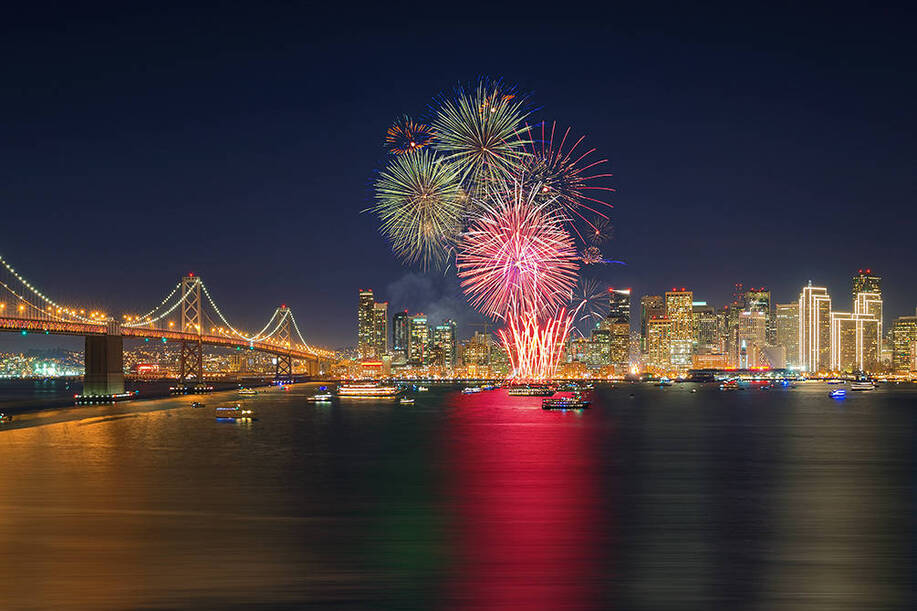 XMAS & NYE ! Direct round-trip flights from Paris to San Francisco, USA for 277 €