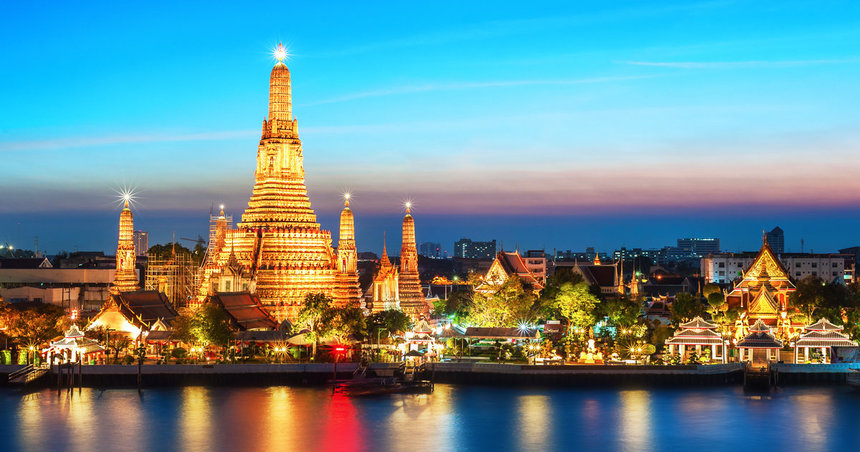 Last Minute return flights from Warsaw to Thailand, Vietnam & Sri Lanka from just 346 € / 1,456 PLN