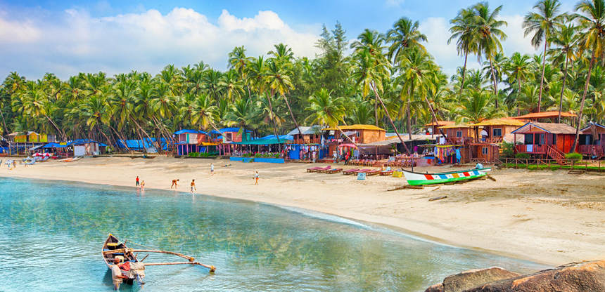 Direct round-trip flights from Birmingham to Goa, India for 299 £