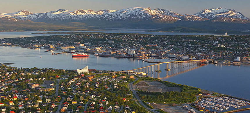Return flights from Gdansk to Tromso, Norway for just 20 €