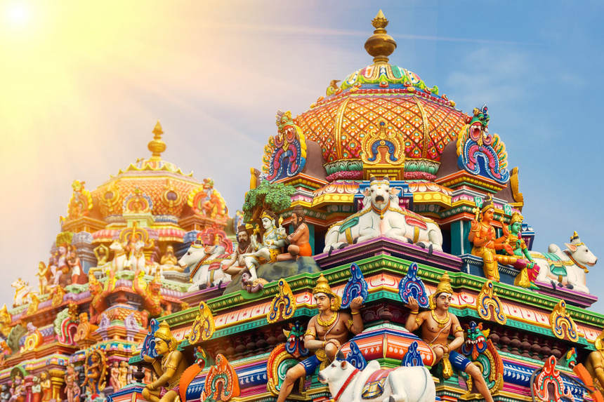 Round-trip flights from London to Chennai, INDIA for 343 £