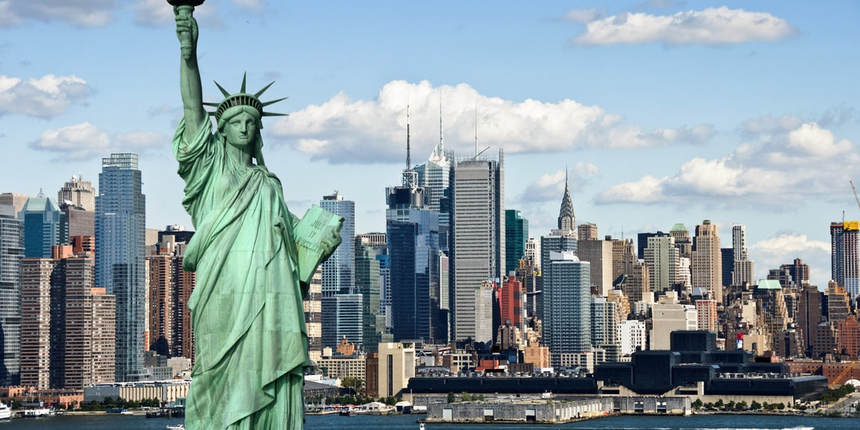 Round-trip flights from Kyiv to New York, USA on sale from 352 €