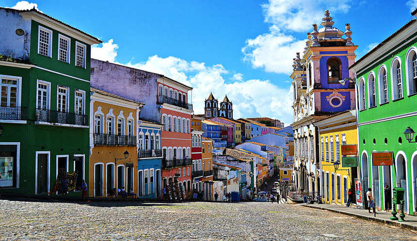 Return flights from Milan to Salvador de Bahia for just 367 €