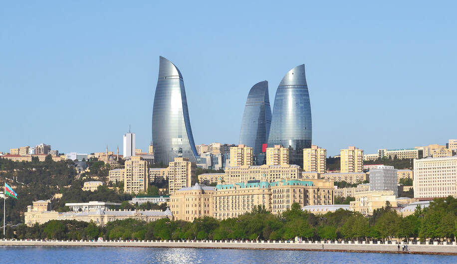 Direct round-trip flights from Budapest to Baku, AZERBAIJAN on sale from 35 €