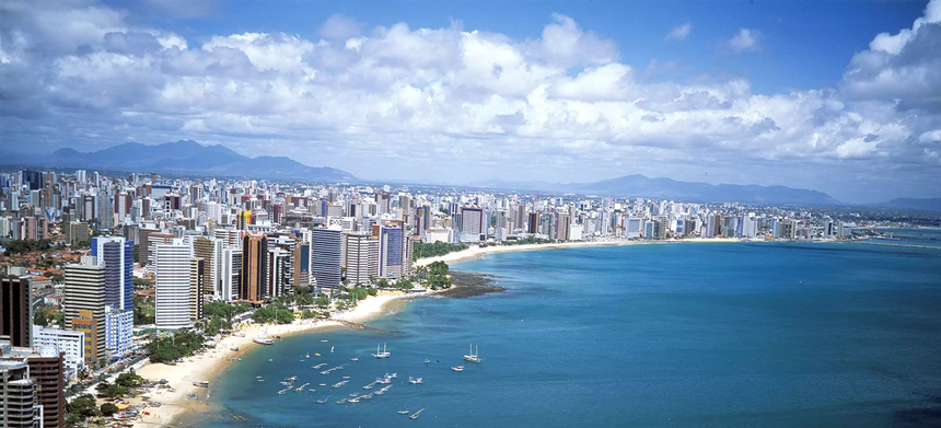 Direct one-way flights from Milan to Fortaleza, Brazil for just 183 €