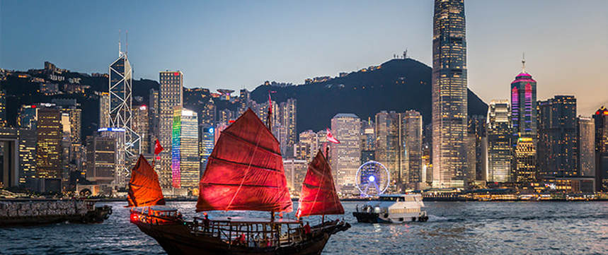 Return flights from Paris to Hong Kong for just 342 €