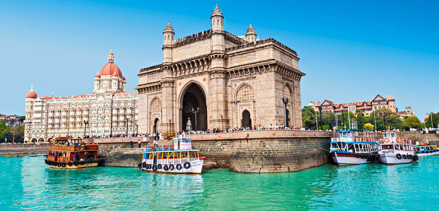 Direct round-trip flights from London to Mumbai for just 323 £