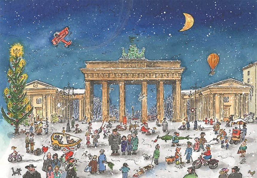 Christmas & NYE in Berlin !! Return flight from Nice for just 41 € ( Min 4 Pax )