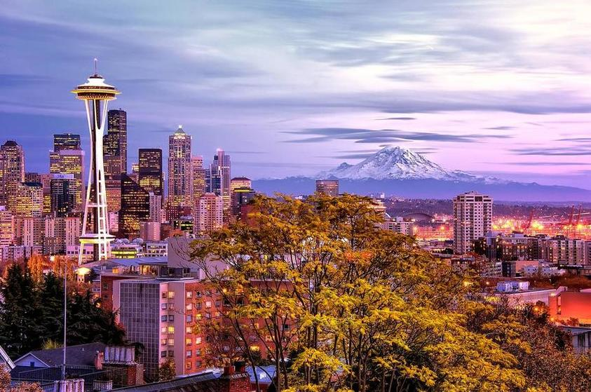Round-trip flights from Kiev to Seattle on sale from just 325 €