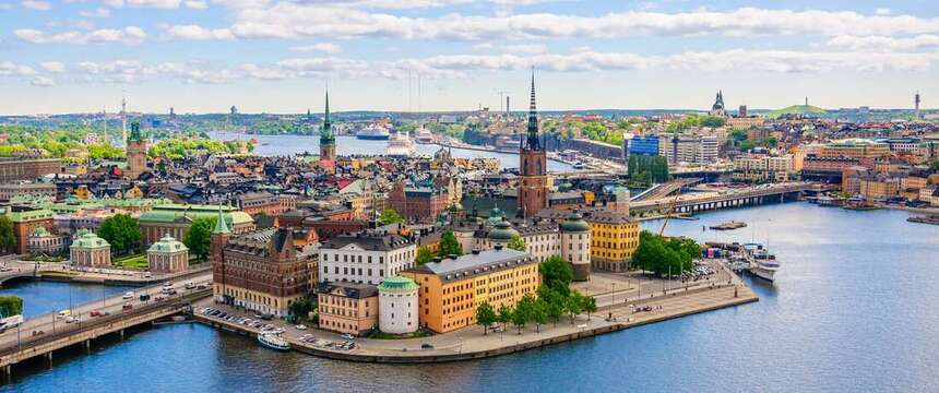 Round-trip flights from Prague to Stockholm, SWEDEN for 13 €