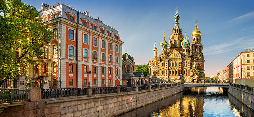 Direct round-trip flights from Pisa to Saint Petersburg for just 76 €