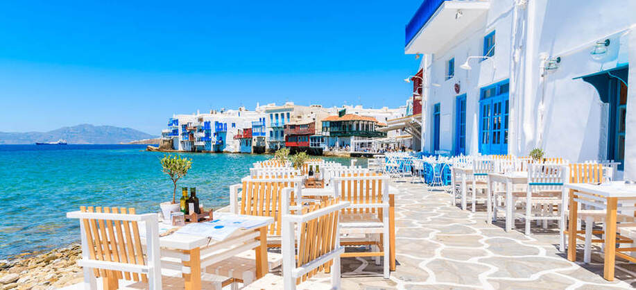Direct round-trip flights from Bucharest to Mykonos, GREECE for 22 €
