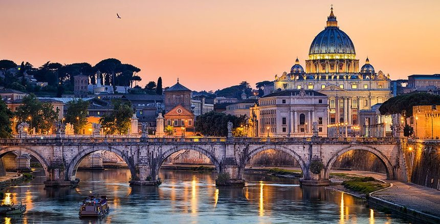 Return flights from Liverpool to Rome for just 37 €