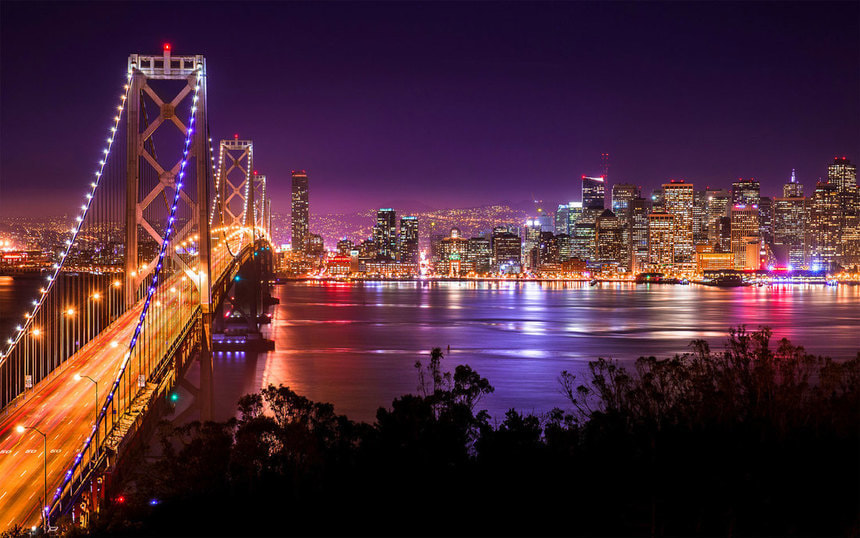 Direct return flights from Manchester to San Francisco from just 344 £