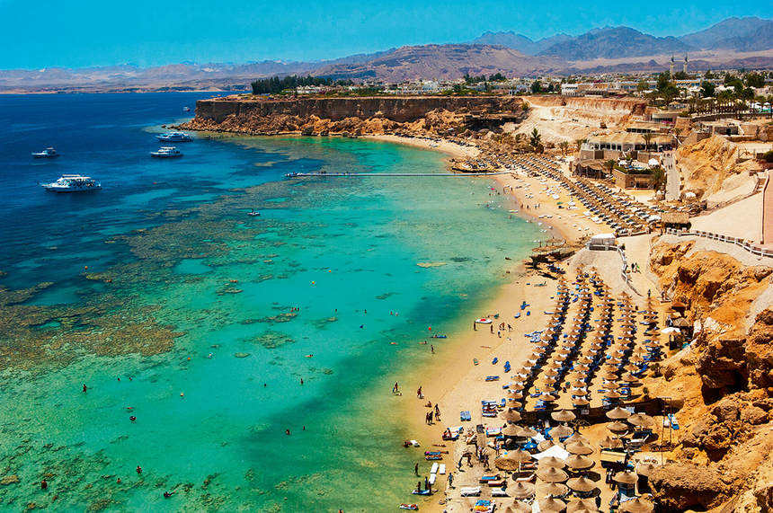 Direct round-trip flights from Brussels to Sharm el Sheikh, Egypt in offer for just 120 €